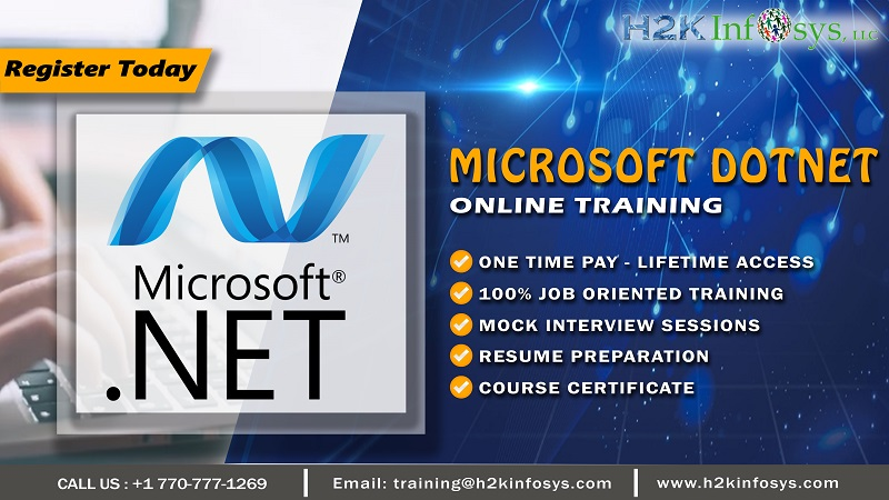 DotNet Online Training by Industry Experts