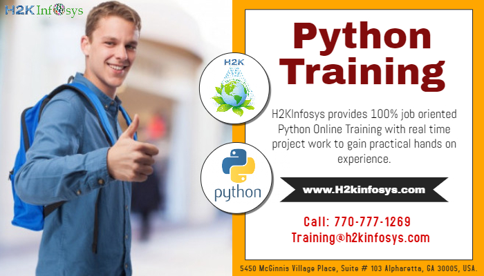 Python online training with job support