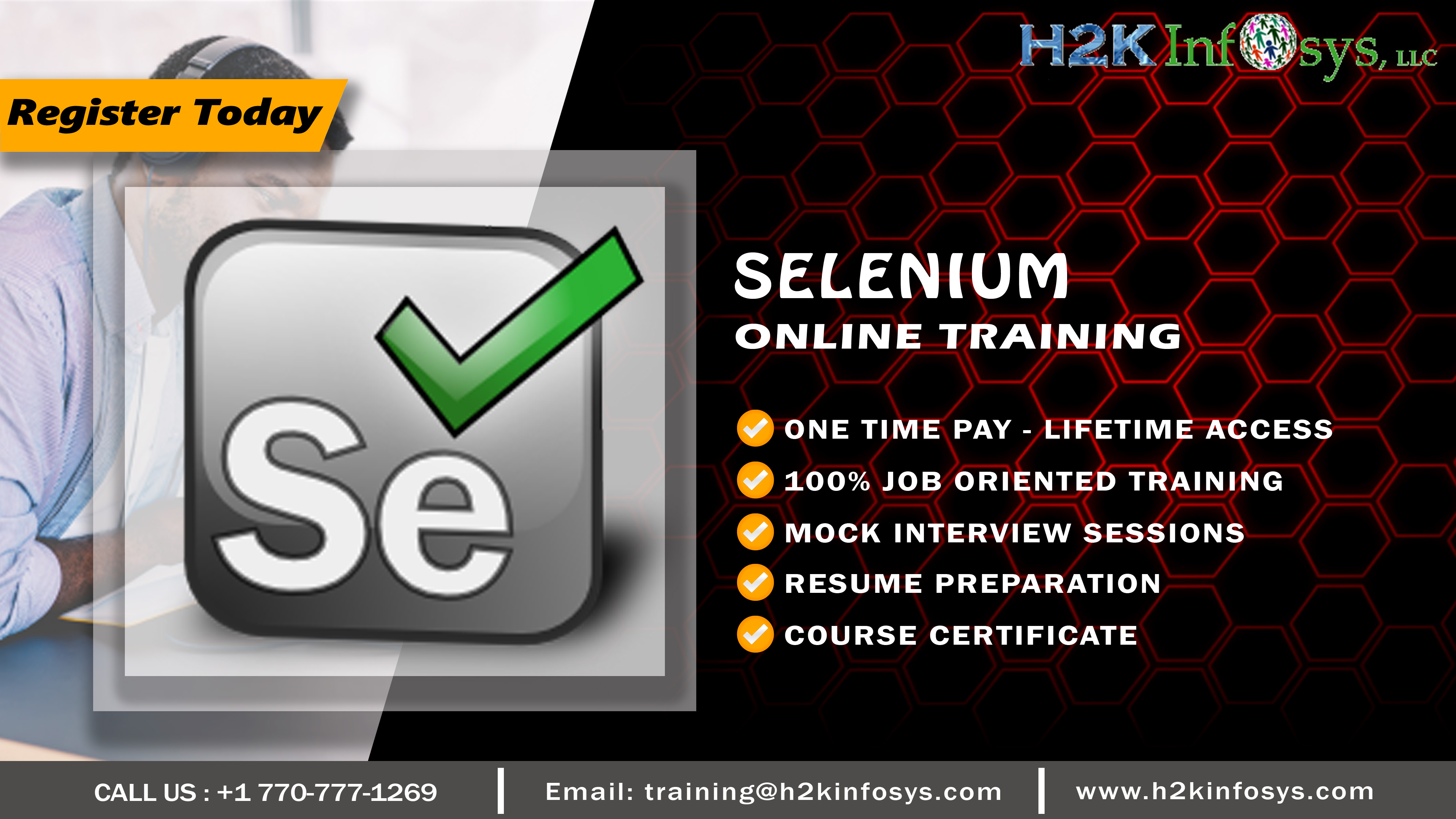 Selenium Webdriver Online Training for Beginners
