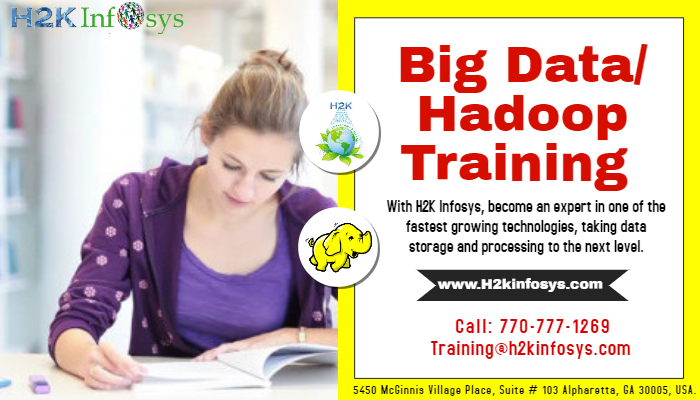 Big Data Hadoop Online Training with Job Support