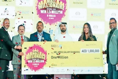 Indian Expat Driver Wins 1 Million Dirhams Raffle in UAE