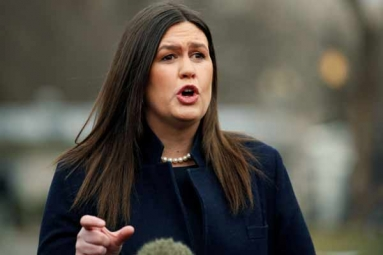 'God Wanted Trump to Be President': Sarah Sanders