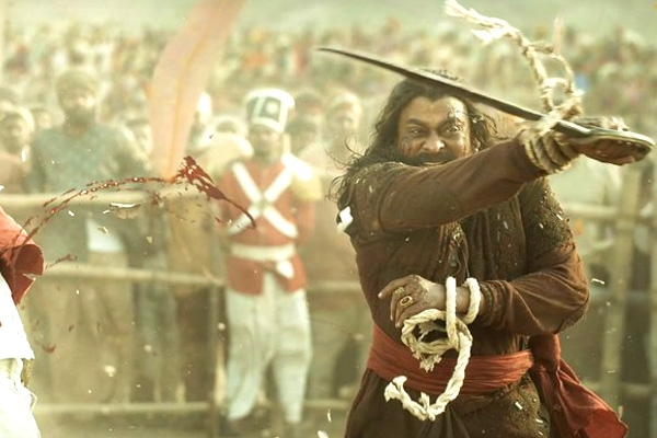Megastar's Syeraa First Day Collections